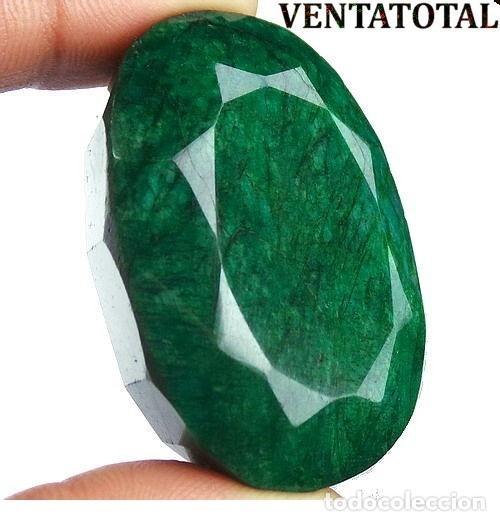 GIGANTE ESMERALDA DE COLOMBIA DE 835 KILATES CON CERTIFICADO KGCL-MEDIDA 7,5 X 4,7 X 3,1 CENTIME-Nº3 (Coleccionismo - Mineralogía - Gemas)