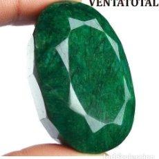 Coleccionismo de gemas: GIGANTE ESMERALDA DE COLOMBIA DE 835 KILATES CON CERTIFICADO KGCL-MEDIDA 7,5 X 4,7 X 3,1 CENTIME-Nº3. Lote 142739930