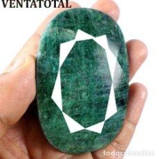 Coleccionismo de gemas: GIGANTE ESMERALDA DE COLOMBIA DE 530 KILATES - MEDIDA 7 X 5 CENTIMETROS - Nº18. Lote 142740298
