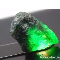 Coleccionismo de gemas: ESMERALDA DE COLOMBIA EN BRUTO.. Lote 143334886