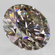 Coleccionismo de gemas: 0.40 CTS DIAMANTE NATURAL FANCY BROWN SI1. Lote 143376918