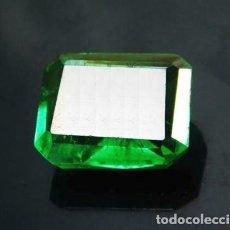 Coleccionismo de gemas: MAGNÍFICA ESMERALDA NATURAL COLOMBIANA TALLADA DE 7.25 CT.. Lote 144088030
