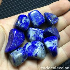 Coleccionismo de gemas: 9 LAPIZLAZULI NATURALES. Lote 144111532