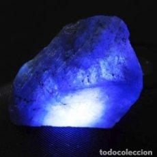 Coleccionismo de gemas: MAGNÍFICA TANZANITA NATURAL EN ROCA DE 25 CT.. Lote 148169262