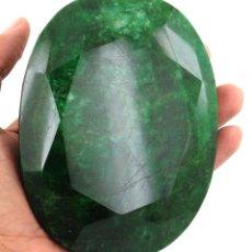 Coleccionismo de gemas: GIGANTE ESMERALDA DE EGIPTO DE 590 KILATES CON CERTIFICADO KGCL-MEDIDA 6,0 X 5,0 X 2,8 CENTIME-Nº5. Lote 150287190