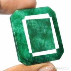 Collectionnisme de gemmes: GIGANTE ESMERALDA DE COLOMBIA DE 91 KILATES CON CERTIFICADO KGCL-MEDIDA 3,2 X 2,9 X 1,1 CENTIME-Nº4. Lote 150294638