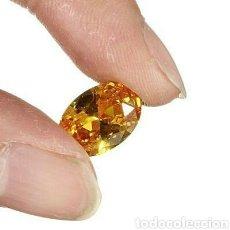 Coleccionismo de gemas: ZAFIRO OVAL NATURAL MEDIO AMARILLO DE 1,80 CT.LIMPIO VVS. Lote 151605062