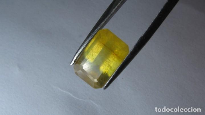 4,30 CT ZAFIRO AMARILLO SRI LANKA (Coleccionismo - Mineralogía - Gemas)