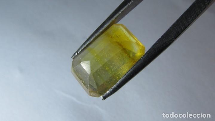 Coleccionismo de gemas: 4,30 ct ZAFIRO AMARILLO SRI LANKA - Foto 5 - 151156702
