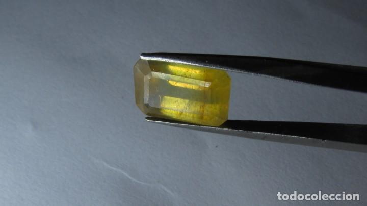 Coleccionismo de gemas: 4,30 ct ZAFIRO AMARILLO SRI LANKA - Foto 6 - 151156702