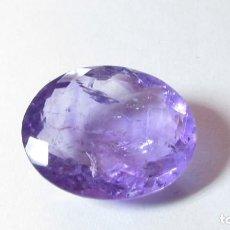Coleccionismo de gemas: 15 CT PRECIOSA AMATISTA NATURAL VIOLETA INTENSO. Lote 151394378