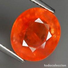 Coleccionismo de gemas: ZAFIRO NATURAL 5.14 QUILATES. NARANJA. SONGEA, TANZANIA.. Lote 151652026