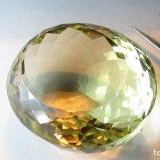 Coleccionismo de gemas: 97,80 CT RARO GRAN CITRINO NATURAL CERTIFICADO GRS. Lote 151777614