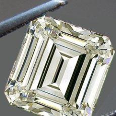Coleccionismo de gemas: UN ENORME DIAMANTE MOISSANITE DE 1,97 QUILATES, CLARIDAD VVS1, COLOR BLANCO APAGADO. Lote 152922390