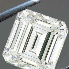 Coleccionismo de gemas: UN ENORME DIAMANTE MOISSANITE DE 1,56 QUILATES, CLARIDAD VVS1, COLOR BLANCO H-I. Lote 152930170