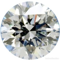 Coleccionismo de gemas: UN ENORME DIAMANTE MOISSANITE DE 2,94 QUILATES, CLARIDAD VVS1, COLOR BLANCO HIELO H-I. Lote 156473557