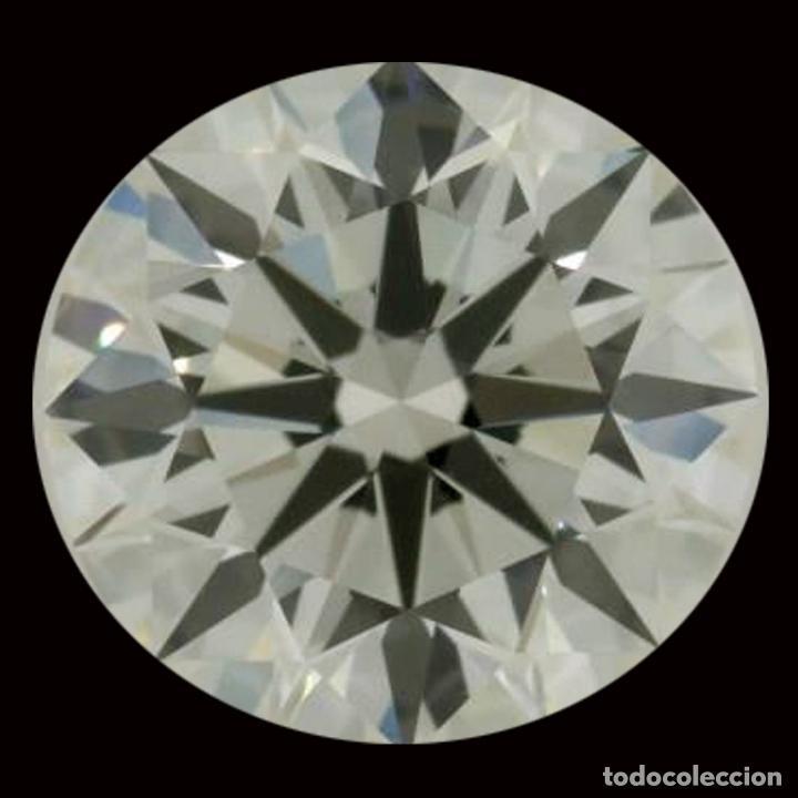 UN ENORME DIAMANTE MOISSANITE DE 4,60 QUILATES, CLARIDAD VVS1, COLOR BLANCO HIELO AZUL I-J (Coleccionismo - Mineralogía - Gemas)