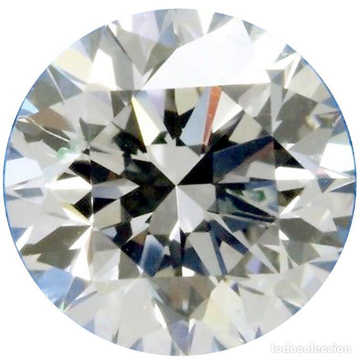 UN ENORME DIAMANTE MOISSANITE DE 4,37 QUILATES, CLARIDAD VVS1, COLOR BLANCO HIELO H-I (Coleccionismo - Mineralogía - Gemas)