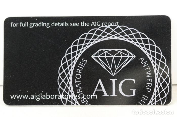 Coleccionismo de gemas: Importante diamante ( - 0.42 ct - ) certificado, talla pera y claridad grado 13. - nr. 334 - APP - Foto 4 - 158062114