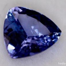 Coleccionismo de gemas: TANZANITA, TRILLÓN, IGI CERTIFICADO. Lote 158242190