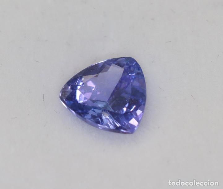 Coleccionismo de gemas: TANZANITA, TRILLÓN, IGI CERTIFICADO - Foto 2 - 158242190