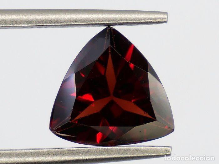 Coleccionismo de gemas: Esplendido Granate Rojo , Pyrope-Almandita Natural - 2.58 ct,, CON CERTIFICADO IGI- APP - Foto 3 - 158772326
