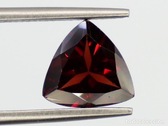 Coleccionismo de gemas: Esplendido Granate Rojo , Pyrope-Almandita Natural - 2.58 ct,, CON CERTIFICADO IGI- APP - Foto 5 - 158772326