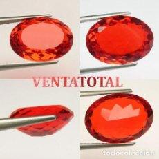 Coleccionismo de gemas: RUBI OVAL ROJO SANGRE DE 7,20 KILATES MEDIDA 1,6 X 1,2 CENTIMETROS - Nº58. Lote 158841450