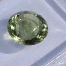 Coleccionismo de gemas: MOLDAVITA, CON IGI CERTIFICADO. Lote 159046674