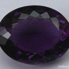 Coleccionismo de gemas: GEMA: AMATISTA VIOLETA DEL BRASIL BUEN TAMAÑO, 8,47 CT., COLOR CLARO Y CON BUEN LUSTRE - AG K25- APP. Lote 159066530