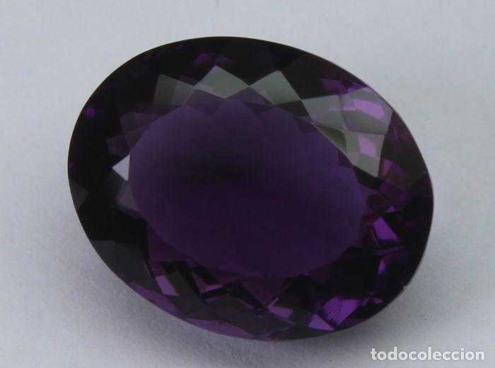 Coleccionismo de gemas: GEMA: Amatista Violeta del Brasil BUEN tamaño, 8,47 ct., color claro y con buen lustre - AG K25- APP - Foto 2 - 159066530