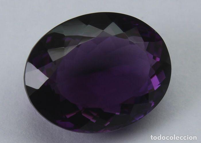Coleccionismo de gemas: GEMA: Amatista Violeta del Brasil BUEN tamaño, 8,47 ct., color claro y con buen lustre - AG K25- APP - Foto 3 - 159066530