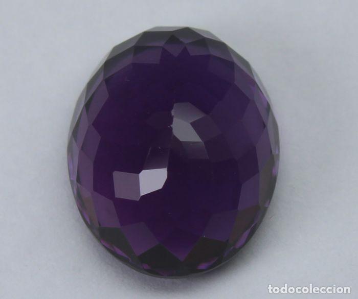 Coleccionismo de gemas: GEMA: Amatista Violeta del Brasil BUEN tamaño, 8,47 ct., color claro y con buen lustre - AG K25- APP - Foto 5 - 159066530