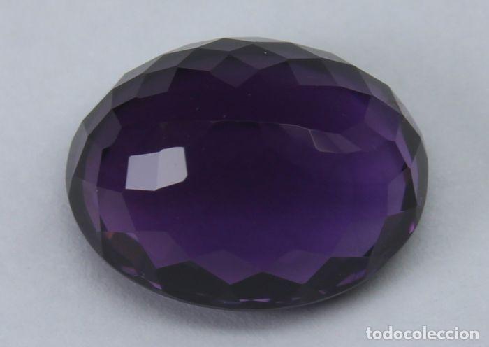 Coleccionismo de gemas: GEMA: Amatista Violeta del Brasil BUEN tamaño, 8,47 ct., color claro y con buen lustre - AG K25- APP - Foto 6 - 159066530