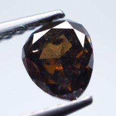 Coleccionismo de gemas: BELLISIMO DIAMANTE - 0.55 CT - NATURAL FANCY DEEP YELLOWISH BROWN - I1. INFORME AIG - NR. 329 APP. Lote 159075166