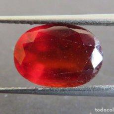 Coleccionismo de gemas: GEMA: GRANATE DE BUEN TAMAÑO: 3,69 CT.., TRATAMIENTO NATURAL, CERTIFICADO.. Lote 159089986