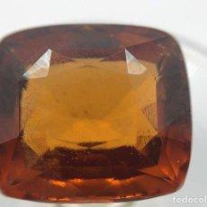 Coleccionismo de gemas: GEMA: BELLISIMA Y EXCEPCIONAL HESSONITA NARANJA AMARRONADO - 4.75 CT. CERTIFICADA.. Lote 159102590