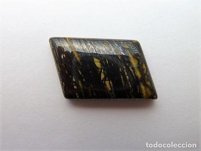 Coleccionismo de gemas: Gemas: Lote de 4 piedras: Charoita, labradorita, ojo de hierro y agata blue - 135.12 ct - Foto 4 - 159131350