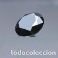 Coleccionismo de gemas: DIAMANTE NEGRO MOISSANITA DE LA INDIA CON TALLA REDONDA DE 2 CT. (7.5 MM).. Lote 159303238