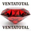 Coleccionismo de gemas: ZAFIRO NARANJA FUEGO TALLA DIAMANTE 6,35 KILATES MEDIDAS 1,0 X 0,5 CENTIMETROS - Nº5. Lote 159578598