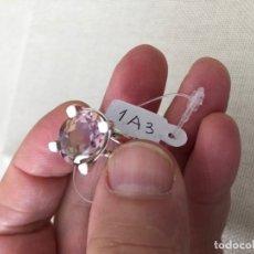 Coleccionismo de gemas: AMETRINO ANILLO PLATA LEY AMETRINE STERLING SILVER RING REF.1A3 BOLIVIANITA BOLIVIANITE GEMOTERAPIA. Lote 159939718