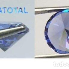 Coleccionismo de gemas: ZAFIRO LAVANDA DESLUMBRANTE TALLA DIAMANTE DE 6,46 KILATES Y MIDE 1 X 0,7 CENTIMETROS -Nº2. Lote 160286490