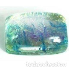 Coleccionismo de gemas: BONITO CABUJÓN DE OPALO DOBLE AUSTRALIANO TRICOLOR DE 46.95 CT. CERTIFICADO.. Lote 160307906