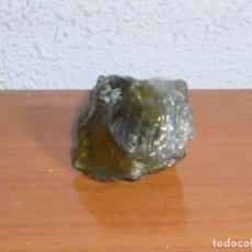 Collectionnisme de gemmes: CRISTAL JADE NATURAL (NO ESTOY SEGURO). DIMENSIONES: 40 X 35 X 25 MM (APROX). PESO: 40 GRAMOS.. Lote 160524906