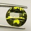Coleccionismo de gemas: ZAFIRO VERDE MIEL DESLUMBRANTE TALLA DIAMANTE DE 6,10 KILATES Y MIDEN UNO 1,0 X 0,7 CENTIMETROS -Nº2. Lote 160631854