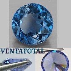 Collectionnisme de gemmes: ZAFIRO AZUL ATERCIOPELADO DESLUMBRANTE TALLA DIAMATE DE 1,10 KILATES Y MIDE 0,6 X 0,5 CENTIMETR -N11. Lote 160755790