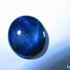 Coleccionismo de gemas: 8,18 CT PRECIOSO ZAFIRO NATURAL ESTRELLA AZUL. Lote 160832374