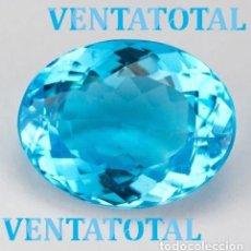 Coleccionismo de gemas: AGUAMARINA AZUL MAR DESLUMBRANTE DE 8,48 KILAT-MEDE 1,8 X 1,5 CENTIMETROS -Nº10. Lote 268937344