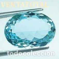 Coleccionismo de gemas: AGUAMARINA AZUL MAR DESLUMBRANTE DE 8,60 KILAT-MEDE 1,8 X 1,5 CENTIMETROS -Nº22. Lote 161424178