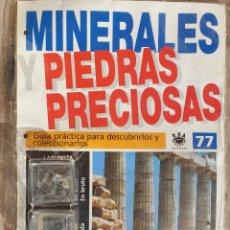 Coleccionismo de gemas: MINERALES PIEDRAS PRECIOSAS. Lote 161481278